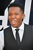 Denzel Whitaker at the Los Angeles premiere of &quot;BlacKkKlansman&quot; at the Academy's Samuel Goldwyn Theatre, Beverly Hills, USA 08 Aug. 2018<br /> Picture: Paul Smith/Featureflash/SilverHub 0208 004 5359 sales@silverhubmedia.com