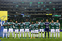 PALMIRA - COLOMBIA, 13-11-2019: Jugadores del Cali posan para una foto previo al partido entre Deportivo Cali e Independiente Santa Fe por la fecha 2, cuadrangulares semifinales, de la Liga Águila II 2019 jugado en el estadio Deportivo Cali de la ciudad de Palmira. / Players of Cali pose to a photo prior match for the date 2, quadrangular semifinals, as part Aguila League II 2019 between Deportivo Cali and Independiente Santa Fe played at Deportivo Cali stadium in Palmira city. Photo: VizzorImage / Nelson Rios / Cont