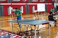 Table Tennis Tournament Niles West High School Skokie illinois 2-24-17