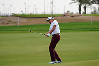 Ian Poulter (ENG) on the 13th during Round 2 of the Saudi International at the Royal Greens Golf and Country Club, King Abdullah Economic City, Saudi Arabia. 31/01/2020<br /> Picture: Golffile | Thos Caffrey<br /> <br /> <br /> All photo usage must carry mandatory copyright credit (© Golffile | Thos Caffrey)