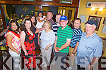 Pictured at a Paella and Tapas meal run by The Abbeyfeale Anglers Association last Saurday was Grainne Hunt, Sarah Donohoe, Lisa, Holly and Alan Donohoe, Mary Hunt, John Donohoe, John Donohoe, Seamus Hunt, Fergal Hennessy and Malachy Donohoe.