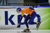 SCHAATSEN: HEERENVEEN: 08-03-2013, IJsstadion Thialf, VIKING RACE Internationale Jeugdschaatswedstrijd, Tjerk de Boer, ©foto Martin de Jong