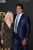 LOS ANGELES - NOV 4:  Carla Ferrigno, Lou Ferrigno at the Hollywood Film Awards 2018 at the Beverly Hilton Hotel on November 4, 2018 in Beverly Hills, CA