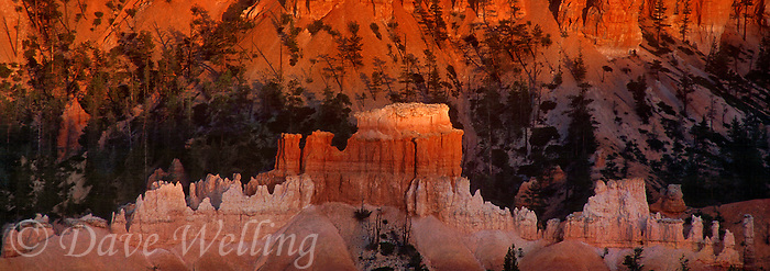 904000022 panorama of hoodoos at sunset seen from sunset point in bryce canyon national park utah