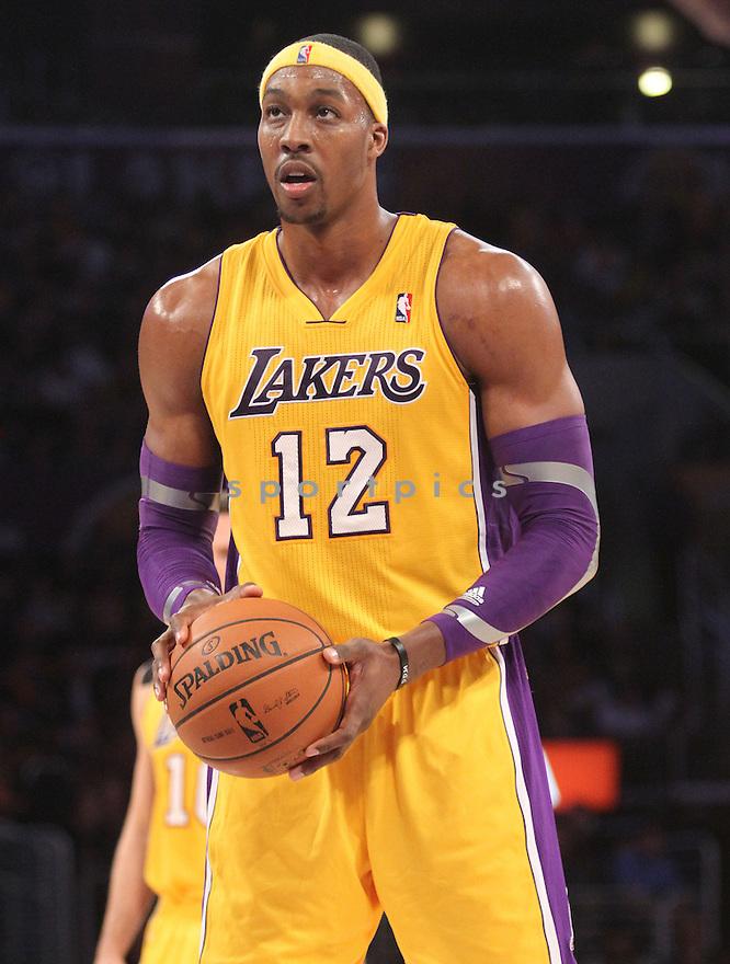 Los Angeles Lakers Dwight Howard (12)