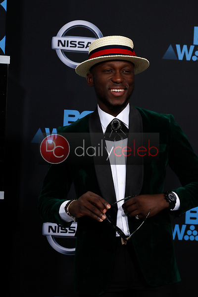 DJ Spinall<br /> at the BET Awards 2017, Microsoft Theater, Los Angeles, CA 06-25-17<br /> David Edwards/DailyCeleb.com 818-249-4998