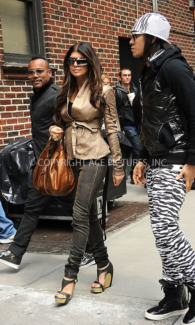 WWW.ACEPIXS.COM . . . . . ....June 9 2009, New York City....Singer Fergie and the Black Eyed Peas made an appearance at the 'Late Show with David Letterman' at the Ed Sullivan Theatre on June 9 2009 in New York City....Please byline: KRISTIN CALLAHAN - ACEPIXS.COM.. . . . . . ..Ace Pictures, Inc:  ..tel: (212) 243 8787 or (646) 769 0430..e-mail: info@acepixs.com..web: http://www.acepixs.com