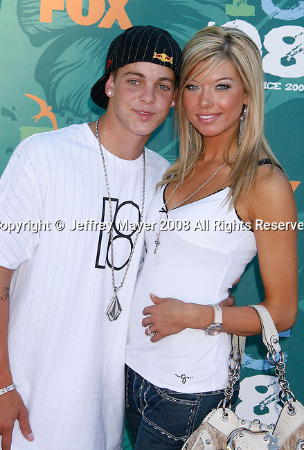 Skateboarder Ryan Sheckler arrives at the 2008 Teen Choice Awards at the Gibson Amphitheater on August 3, 2008 in Universal City, California.