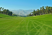 Golf Course Fairway Snow Top Mountains rolling fairways, beautiful greens, natural settings