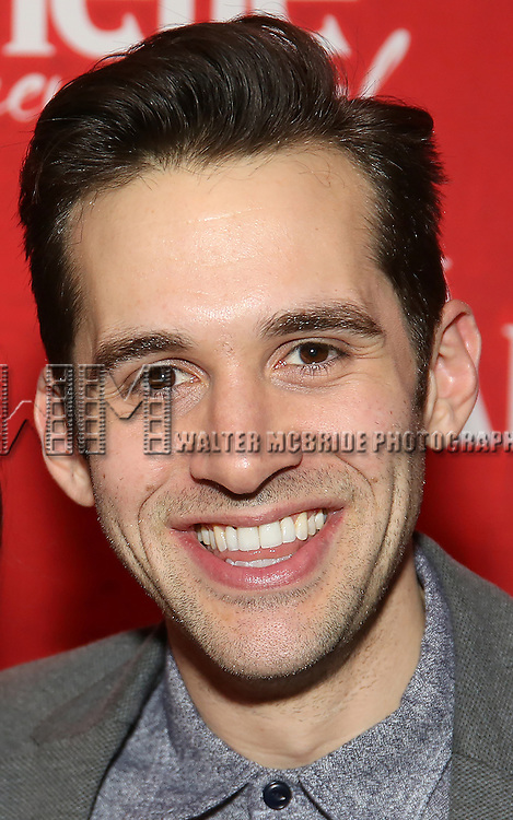 "Adam Chanler-Beret attends the ""Amelie"" Broadway Musical Sneak Peek Concert at the Cutting Room on February 10, 2017 in New York City."