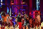 CORAL GABLES, FL - APRIL 24: Sean Paul and Wisin performs onstage during the 2014 Billboard Latin Music Awards at BankUnited Center on April 24, 2014 in coral Gables, Florida. (Photo by Johnny Louis/jlnphotography.com)