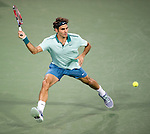 Roger Federer (SUI) defeats Andy Murray (GBR) by 63 75 at the Western & Southern Open in Mason, OH on August 15, 2014.