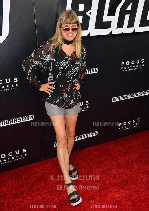 Catherine Hardwicke at the Los Angeles premiere of &quot;BlacKkKlansman&quot; at the Academy's Samuel Goldwyn Theatre, Beverly Hills, USA 08 Aug. 2018<br /> Picture: Paul Smith/Featureflash/SilverHub 0208 004 5359 sales@silverhubmedia.com