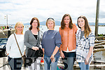 l-r Maria Lyne, Mary Normoyle, Siun Dowd O'Connor, Brenda Ui Chathasaigh and Ellen Goodwin The Maharees Regatta Queen at the Maharees Regatta on Sunday
