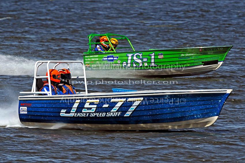 "JS-77 ""Lap Dancer"" and JS-1 ""Zakaru""  (Jersey Speed Skiff(s)"