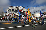 Vietnam Veterans of America Chapter 388 participate in the annual Nevada Day parade in Carson City, Nev. on Saturday, Oct. 29, 2016. <br />