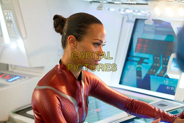 Zoe Saldana.in Star Trek Into Darkness (2013) .*Filmstill - Editorial Use Only*.CAP/NFS.Supplied by Capital Pictures.