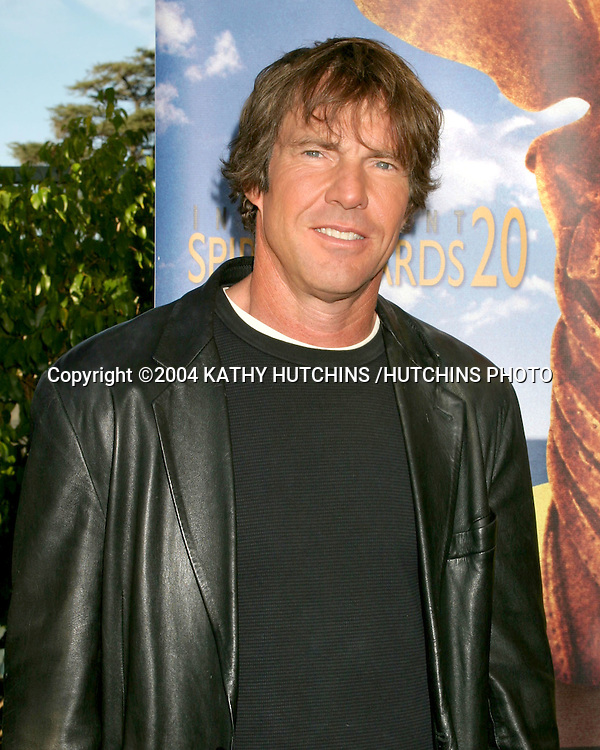 ©2004 KATHY HUTCHINS /HUTCHINS PHOTO.INDEPENDENT SPIRIT AWARDS NOMINATIONS.LE MEREDIEN HOTEL.LOS ANGELES, CA.NOVEMBER 30 , 2004..DENNIS QUAID...