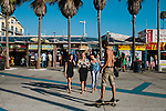 A shoot in Venice Beach with Los Angeles bloggers from Honey LA, August 22, 2012.
