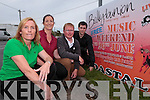 Committee members for the 'Costal Rocks' music festival pictured here last Saturday ahead of opening night this Friday in Ballybunion. l-r: Maura Hanrahan, Una O'Connor, Greg Ryan and Stephen Lonergan
