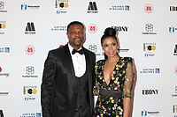 LOS ANGELES - NOV 30:  Chris Tucker, Susan Kelechi Watson at the Ebony Power 100 Gala on the Beverly Hilton Hotel on November 30, 2018 in Beverly Hills, CA