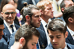 Real Madrid's Gareth Bale at Seat of Government in Madrid, May 22, 2017. Spain.<br /> (ALTERPHOTOS/BorjaB.Hojas)