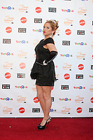 "LOS ANGELES - OCT 27:  Sabrina Bryan arrives at ""Keep A Child Alive Presents 2012 Dream Halloween Los Angeles"" at Barker Hanger on October 27, 2012 in Santa Monica, CA"