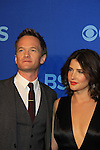 Neil Patrick Harris & Colbie Smulders at the CBS Upfront on May 15, 2013 at Lincoln Center, New York City, New York. (Photo by Sue Coflin/Max Photos)