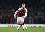 2nd November 2017, Emirates Stadium, London, England; UEFA Europa League group stage, Arsenal versus Red Star Belgrade; Jack Wilshere of Arsenal in action