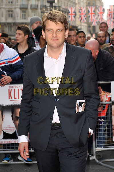 Leopold Hoesch .The UK Premiere of 'Klitschko', Empire Cinema, Leicester Square, London, England. .21st May 2012.half length white shirt black suit jacket .CAP/MAR.© Martin Harris/Capital Pictures.