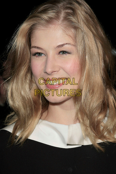 "ROSAMUND PIKE.""Atonement"" Los Angeles Premiere held at the Academy Theatre, Beverly Hills, California, USA,.06 December, 2007..portrait headshot.CAP/ADM/RE.©Russ Elliot/AdMedia/Capital Pictures."