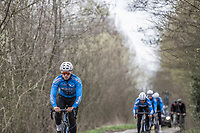Michaël Goolaerts (BEL/Veranda's Willems-Crelan) during recon of the 116th Paris - Roubaix 2018