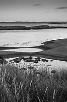 Släta hällar vid havet på Finnskär i Stockholms skärgård i svartvitt / Hobs in Stockholms archipelago Sweden.. / Hobs in Stockholms archipelago Sweden.