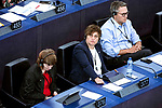 Strasbourg - France - 03 July 2019 -- MEP Silvia MODIG, Confederal Group of the European United Left - Nordic Green Left (Vasemmistoliitto - Fin.) -- PHOTO: Juha ROININEN / EUP-IMAGES