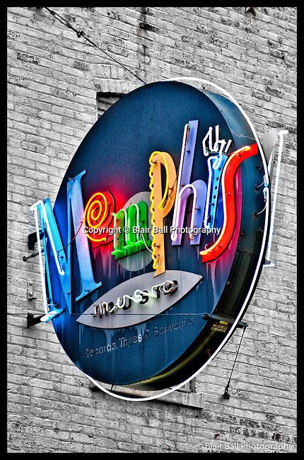 Memphis photos around downtown Memphis Tennessee.