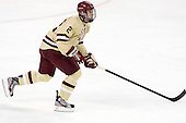 Colin Sullivan (BC - 2) - The Boston College Eagles defeated the visiting Northeastern University Huskies 3-0 after a banner-raising ceremony for BC's 2012 national championship on Saturday, October 20, 2012, at Kelley Rink in Conte Forum in Chestnut Hill, Massachusetts.