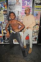 FORT LAUDERDALE FL - AUGUST 17: Swae Lee and Slim Jimmy of Rae Sremmurd pose for a portrait during 99 Jamz Uncensored at Revolution on August 17, 2016 in Fort Lauderdale, Florida. Credit: mpi04/MediaPunch