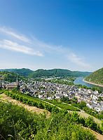 Deutschland, Rheinland-Pfalz, Moseltal, Treis-Karden: Ortsteil Treis | Germany, Rhineland-Palatinate, Moselle Valley, Treis-Karden: district Treis at river Moselle