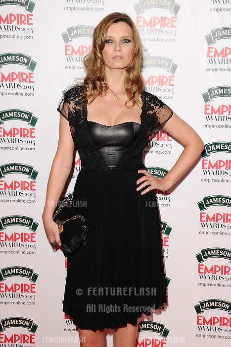 Ruth Crilly<br /> arives for the Empire Magazine Film Awards 2014 at the Grosvenor House Hotel, London. 30/03/2014 Picture by: Steve Vas / Featureflash