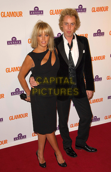 DAVINIA MURPHY.Inside Arrivals at the Glamour Women of the Year Awards 2008 held at Berkeley Square Gardens, London, England,.3rd June 2008.full length black dress suit cut out.CAP/CAS.©Bob Cass/Capital Pictures