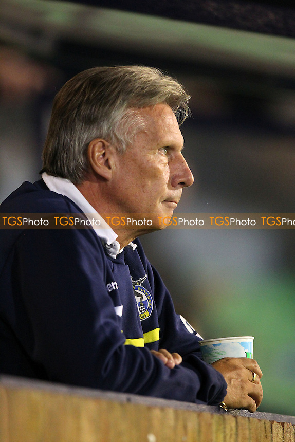 Bristol Rovers manager John Ward looks on ahead of the game - Southend United vs Bristol Rovers - Sky Bet League Two Football at Roots Hall, Southend-on-Sea, Essex - 27/09/13 - MANDATORY CREDIT: Gavin Ellis/TGSPHOTO - Self billing applies where appropriate - 0845 094 6026 - contact@tgsphoto.co.uk - NO UNPAID USE