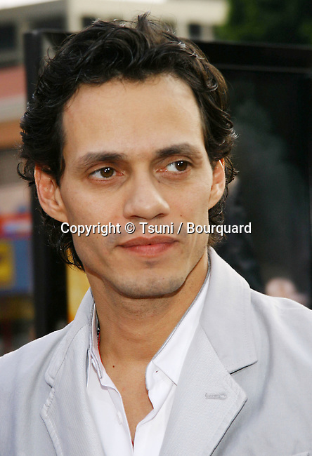 Marc Anthony arriving at the Man Of Fire Premiere at the Westwood National Theatre in Los Angeles. April 18, 2004.