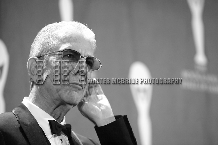 Leonard Cohen<br />attending the 2008 ROCK AND ROLL HALL OF FAME Induction Ceremony at the Waldorf Astoria Hotel in New York City.<br />March 10, 2008