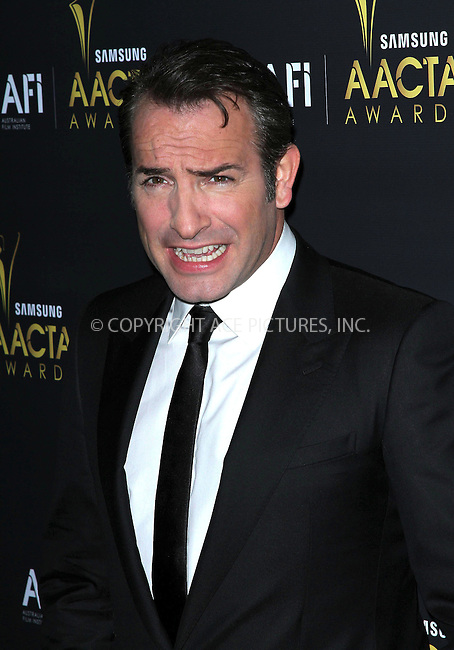 WWW.ACEPIXS.COM . . . . .  ..... . . . . US SALES ONLY . . . . .....January 27 2012, New York City....Jean Dujardin at the Australian Academy International Awards at the Soho House on January 27 2012 in Los Angeles....Please byline: FAMOUS-ACE PICTURES... . . . .  ....Ace Pictures, Inc:  ..Tel: (212) 243-8787..e-mail: info@acepixs.com..web: http://www.acepixs.com