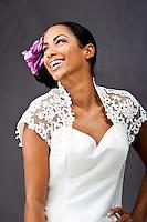 Bridal fashion photographs of Marleece - American Model for Latonya Beckum - Makemeover, by Korey Akinbami
