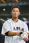 Sho Nakata (JPN), <br /> MARCH 14, 2017 - WBC : <br /> 2017 World Baseball Classic <br /> Second Round Pool E Game <br /> between Japan 8-5 Cuba <br /> at Tokyo Dome in Tokyo, Japan. <br /> (Photo by YUTAKA/AFLO SPORT)