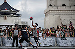 Competitors in action during the Taiwan's King of the Rock on August 26, 2012 at C.K.S. Memorial Hall in Taipei, Taiwan. Photo by Victor Fraile / The Power of Sport Images