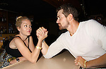 One Life To Live Bree Williamson & Josh Kelly arm wrestle at the Celebrity Bartending Bash on May 14 at Martini's Upstairs, Marco Island, Florida - SWFL Soapfest Charity Weekend May 14 & !5, 2011 benefitting several children's charities including the Eimerman Center providing educational & outfeach services for children for autism. see www.autismspeaks.org. (Photo by Sue Coflin/Max Photos)