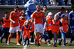 Images from the Reno 1868 FC vs. San Diego Loyal SC preseason match in Reno, Nev., on Saturday, Feb. 29, 2020. San Diego won 4-2. <br /> Photo by Cathleen Allison/Cathleen Allison Photography