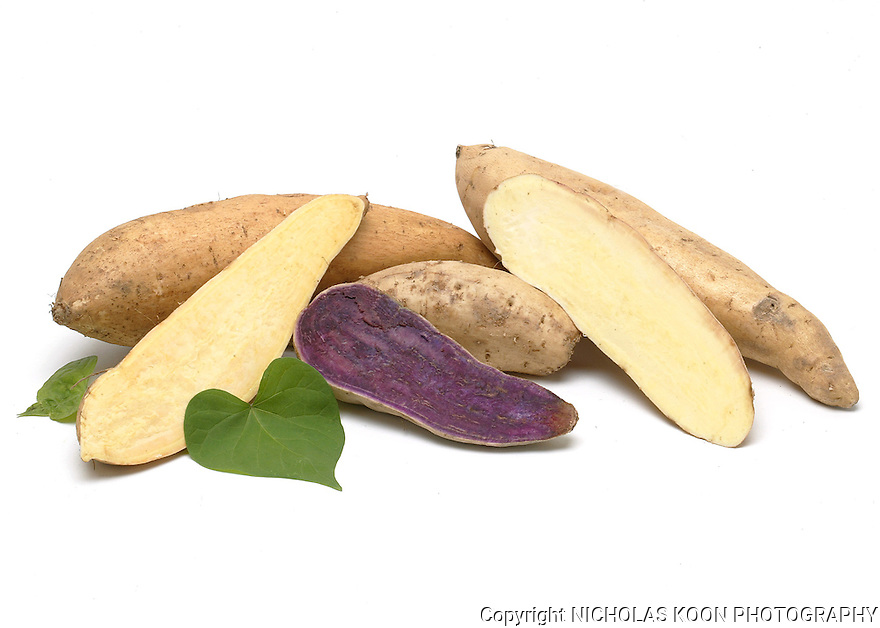 Sweet Potato still life.
